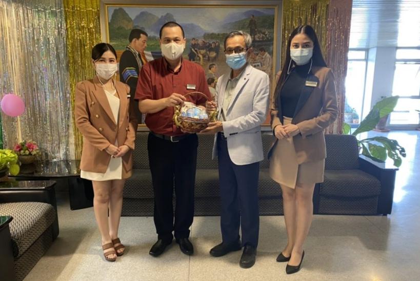 โรงแรมแคนทารี โคราช สวัสดีปีใหม่ 2564 อธิการบดี มหาวิทยาลัยราชภัฏนครราชสีมา